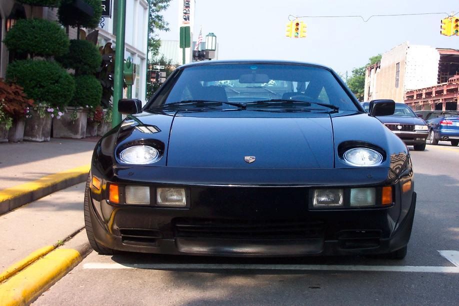 front face of 928